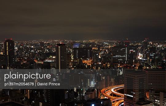 Tokio bei Nacht - p1397m2054678 von David Prince