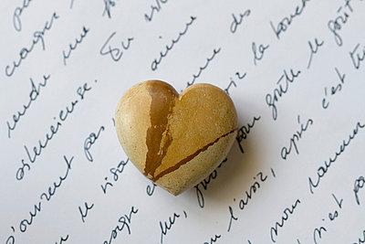Liebesbrief in Französisch - p6850047 von Lena Kah