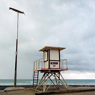 Rettungsturm - p1201m1040662 von Paul Abbitt