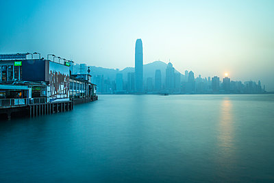 Star Ferry Terminal, Kowloon, Hong Kong, China, Asia - p871m1082304 by Neil Emmerson