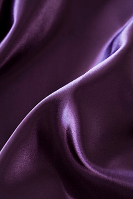 Purple silk - p495m906988 by Jeanene Scott