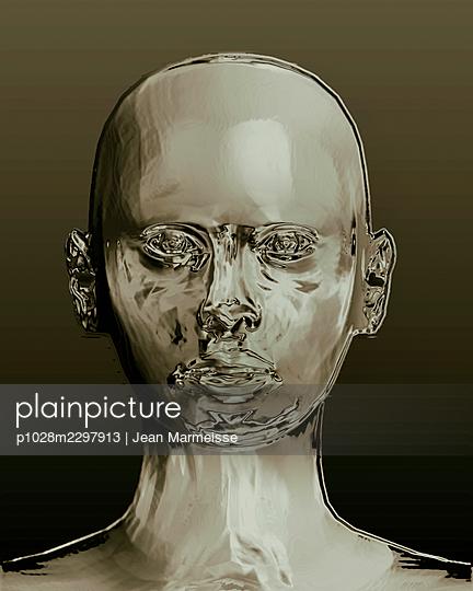 Cyber head - p1028m2297913 by Jean Marmeisse