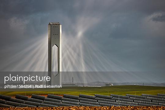 Experimentelles Sonnenkraftwerk - p719m1584294 von Rudi Sebastian