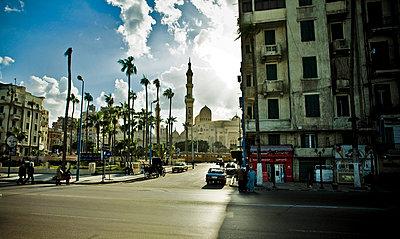 Street in Alexandria - p3930131 by Manuel Krug