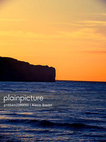 Normandy coast - p1654m2289050 by Alexis Bastin