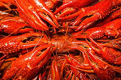 Boiled crawfish - p1418m1572201 by Jan Håkan Dahlström