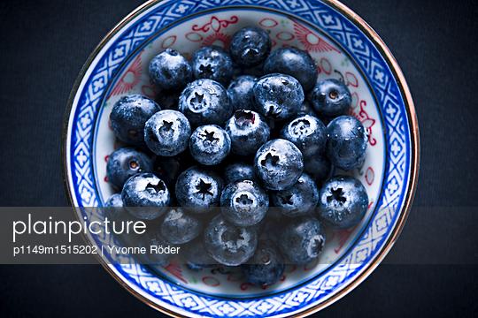 Blueberries - p1149m1515202 by Yvonne Röder