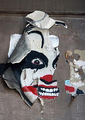Clownfratze - p277m883384 von Dieter Reichelt
