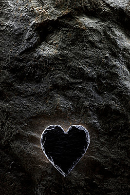 Stony heart - p6760175 by Rupert Warren