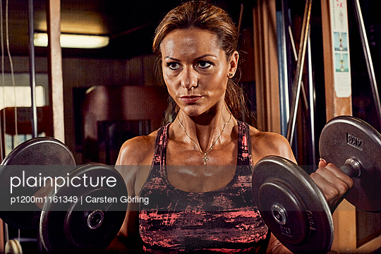 Bodybuilding - p1200m1161349 von Carsten Görling