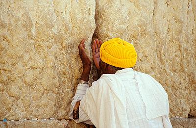 Beten an der Klagemauer - p2200269 von Kai Jabs
