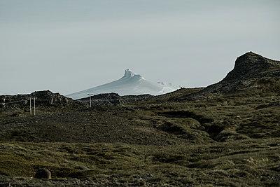 Island, Snæfellsjökull - p741m2108959 von Christof Mattes
