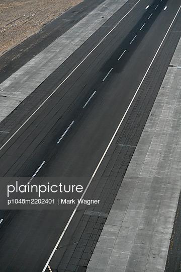 Airport tarmac runway - p1048m2202401 by Mark Wagner