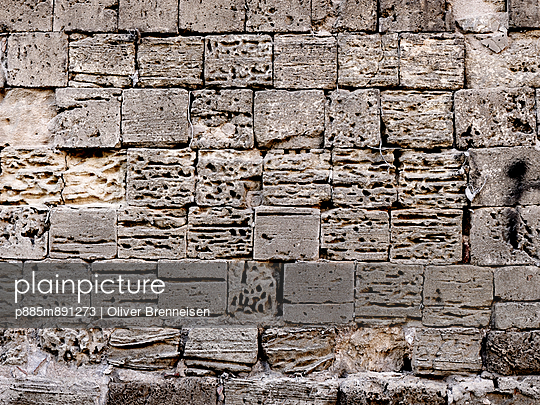 Stone wall - p885m891273 by Oliver Brenneisen