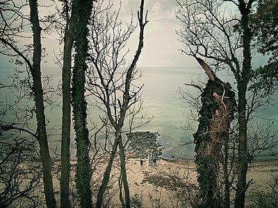 Mole Hohwachter Bucht Ostsee - p1282m1105073 von Stefano Boragno
