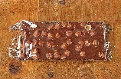 Tafel Schokolade - p1650093 von Andrea Schoenrock