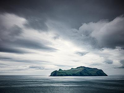 Rocky island on sea - p312m1211289 by Stefan Isaksson