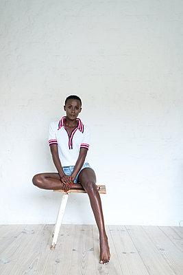 Afrikanerin - p427m1464601 von R. Mohr