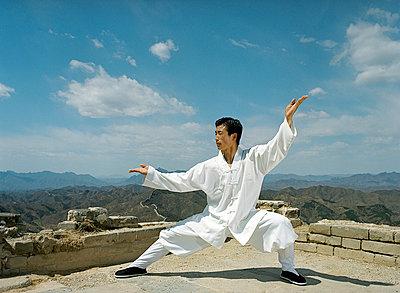 Martial Art - p6060290 von Iris Friedrich