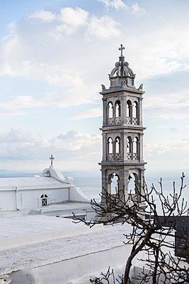 Church on Tinos Island - p940m1201373 by Bénédite Topuz