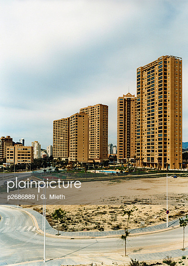 High rises in Benidorm - p2686889 by G. Mieth