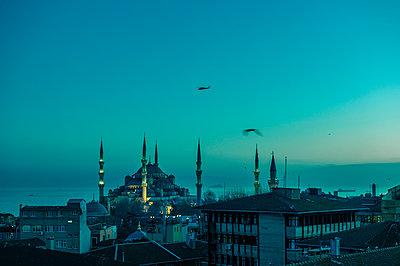 Türkei, Istanbul, Blaue Moschee - p1085m2192231 von David Carreno Hansen