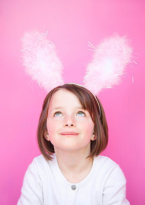 Easter girl - p6690344 by Jutta Klee photography