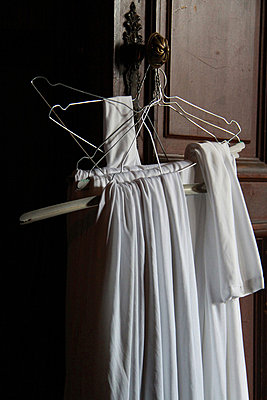 Clothes hangers - p277m883379 by Dieter Reichelt