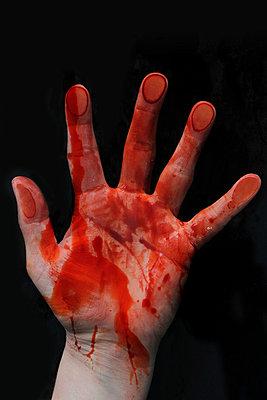Bloody hand - p450m955581 by Hanka Steidle