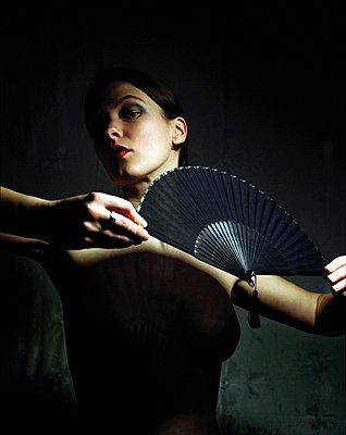 Flamenco dancer - p567m720829 by Maria Stijger