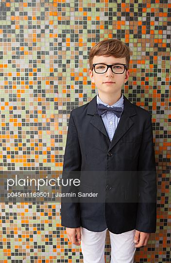 Intellektueller Junge - p045m1169501 von Jasmin Sander