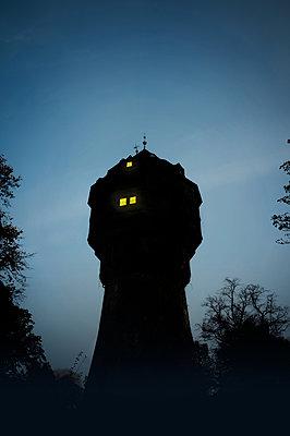 Historischer Wasserturm - p470m2082308 von Ingrid Michel