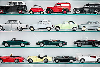 Collection of toy cars - p851m1148583 by Lohfink