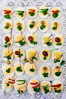 Russian deviled eggs - p363m2192996 by Thomas Victor