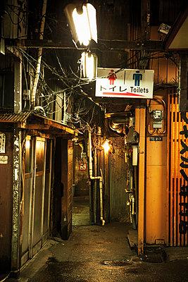 Backyard, Tokyo - p1093m904068 by Sven Hagolani