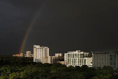 Miami Regenbogen - p1280m1190184 von Dave Wall