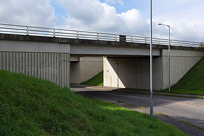 Motorway bridge - p1057m833701 by Stephen Shepherd