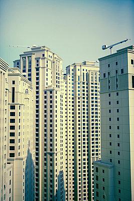 View of skyscrapers - p528m713803 by Dan Lepp