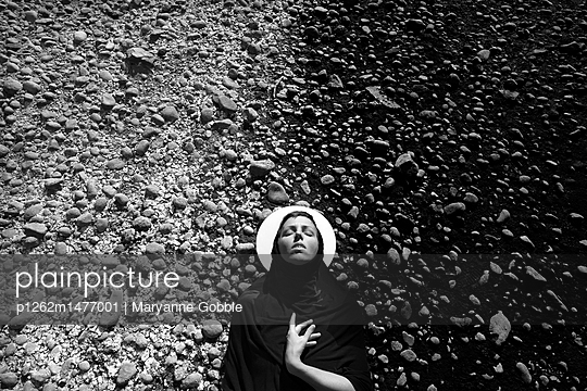 Hail Mary - p1262m1477001 by Maryanne Gobble