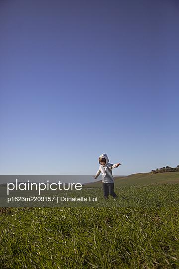Child portrait - p1623m2209157 by Donatella Loi