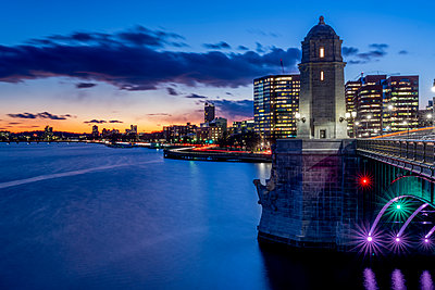 Longfellow Bridge Boston - p401m2196331 by Frank Baquet