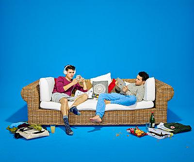 Couch - p1012m1083031 von Frank Krems