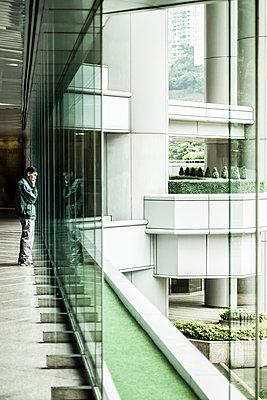 Hongkong Büro - p1202m1061270 von Jörg Schwalfenberg