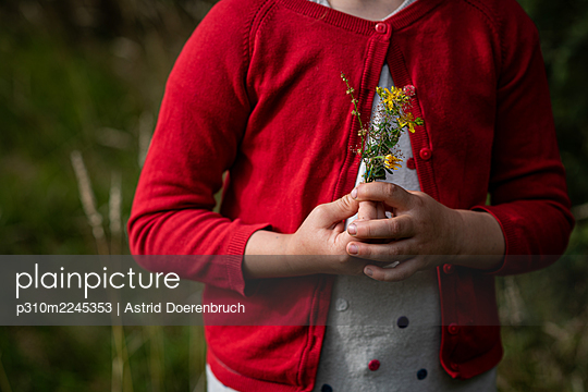 Bouquet from the meadow - p310m2245353 by Astrid Doerenbruch