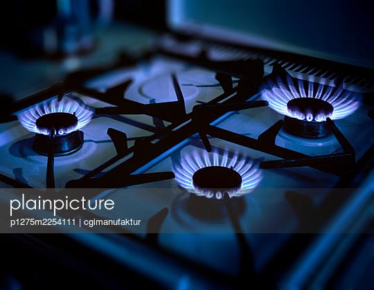 Gas stove - p1275m2254111 by cgimanufaktur