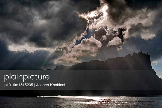 Evening mood - p1016m1515205 by Jochen Knobloch