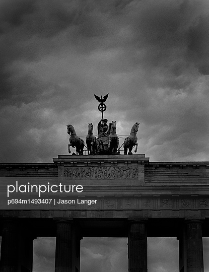 Quadriga atop Monument, Brandenburg Gate, Berlin, Germany