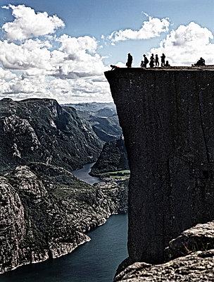 Norway, Preikestolen - p1212m1026088 by harry + lidy