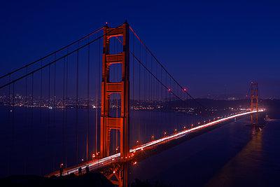 Golden Gate - p1308m1143571 von felice douglas