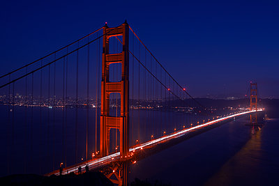 Golden Gate Bridge - p1308m1143571 by felice douglas